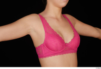 Jenny Wild breast chest pink bra underwear 0005.jpg